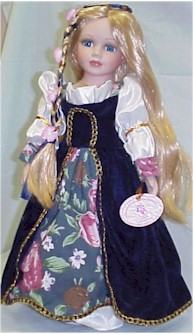 Rapunzel Collector doll-Laura