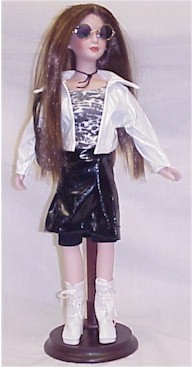 Porcelain 16 Inch Breanna Collector Doll by The Cathay Collection