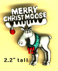 Christmoose pin